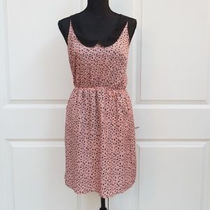 Material girl racerback dress with pockets